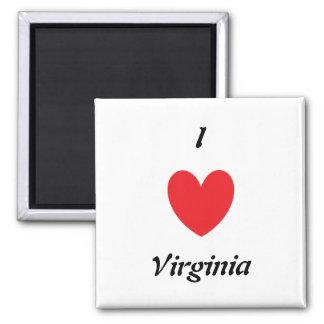 I Heart Virginia Magnet