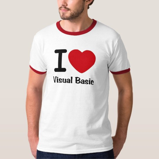 I heart visual basic T-Shirt