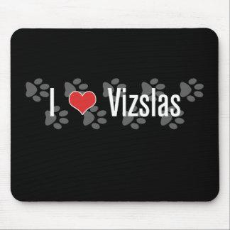 I (heart) Vizslas Mouse Mat