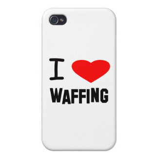 I Heart waffing iPhone 4/4S Covers