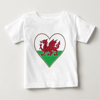 I Heart Wales Baby T-Shirt