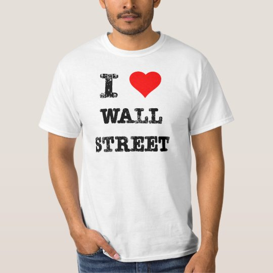 I Heart Wall Street T-Shirt