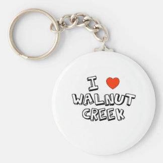 I Heart Walnut Creek Key Ring