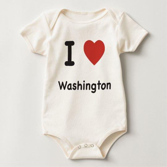 I Heart Washington - Baby T-shirt