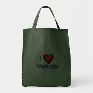 I Heart Washington Canvas Bags