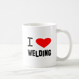 I Heart welding Mugs