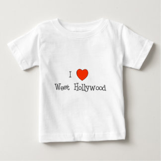 I Heart West Hollywood Baby T-Shirt