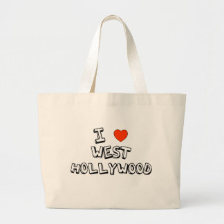 I Heart West Hollywood Jumbo Tote Bag