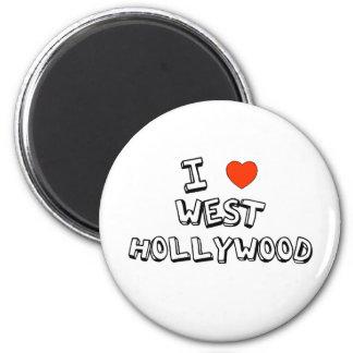 I Heart West Hollywood Magnet