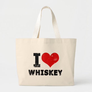 I Heart Whiskey Tote Bags