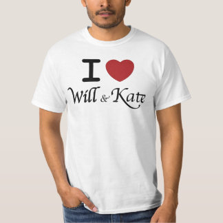 I heart Will and Kate Men's T-Shirt
