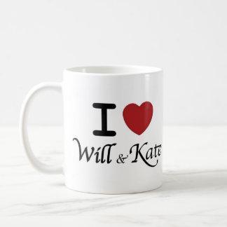 I heart Will and Kate Mug