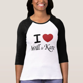 I Heart Will and Kate Tees