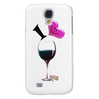I Heart Wine Galaxy S4 Case