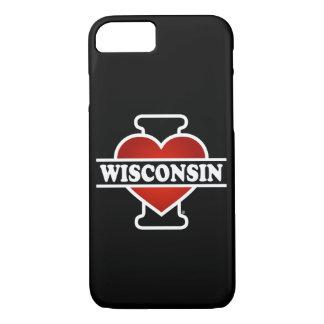 I Heart Wisconsin iPhone 7 Case