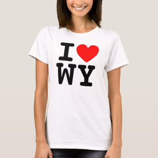 I Heart WY Shirt