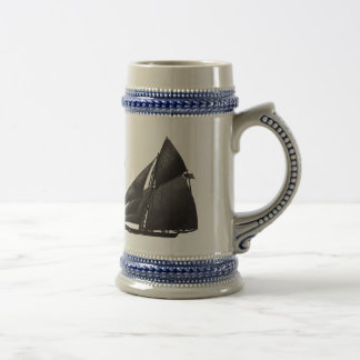 I Heart Yachting Beer Stein