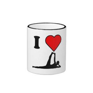 I Heart Yoga Mug