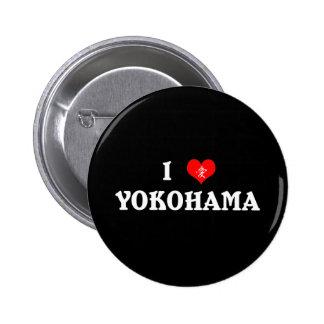 I Heart Yokohama Button