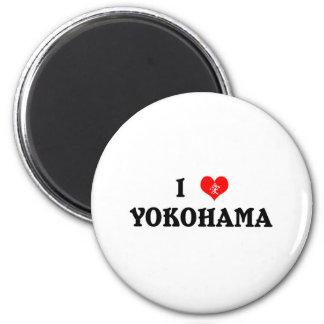 I Heart Yokohama English Magnet