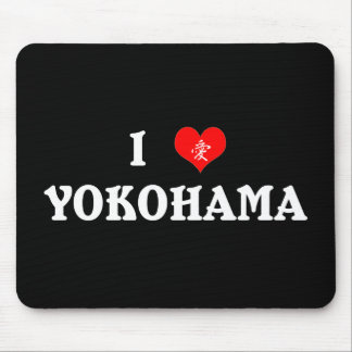I Heart Yokohama  Mousepad