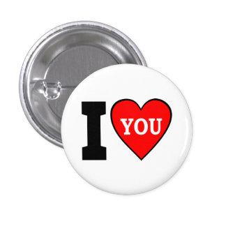 I Heart You Button