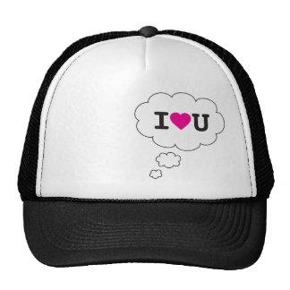 i heart you trucker hats