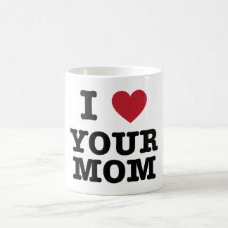 I Heart Your Mom Basic White Mug