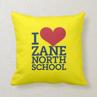 "I Heart Zane North 16"" x 16"" pillow"