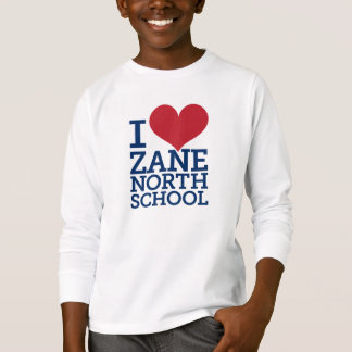 I Heart Zane North School Kids' Long Sleeve Tee