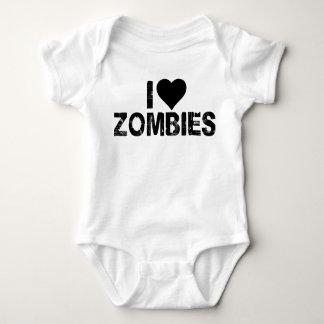 I {HEART} ZOMBIES BABY BODYSUIT