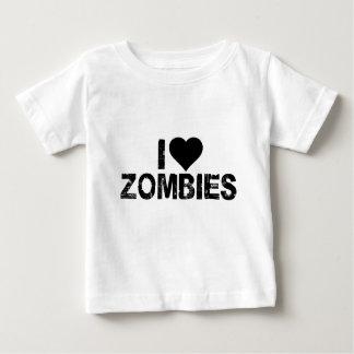 I [HEART] ZOMBIES BABY T-Shirt