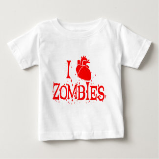 I HEART ZOMBIES BABY T-Shirt