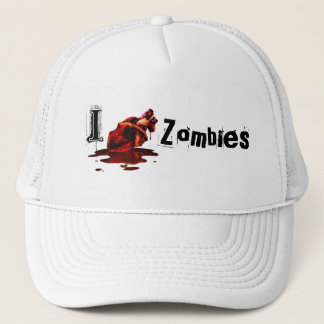 I HEART ZOMBIES - hat