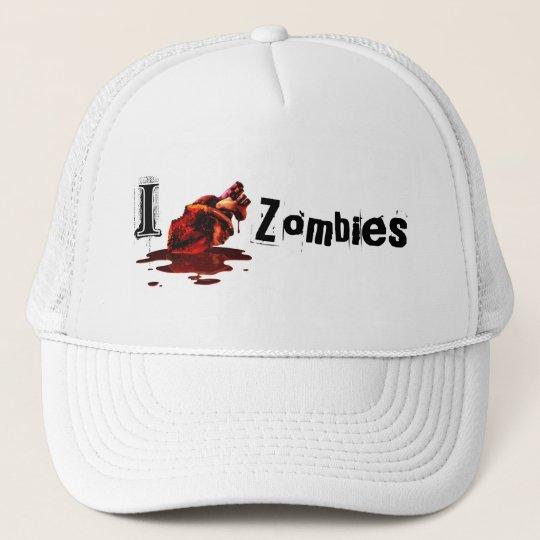 I HEART ZOMBIES - hat