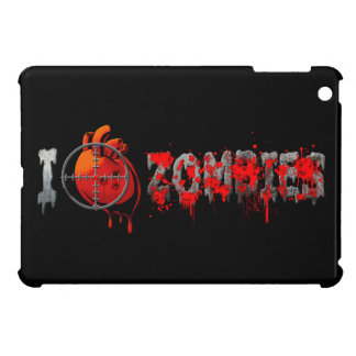 I Heart Zombies iPad Mini Covers