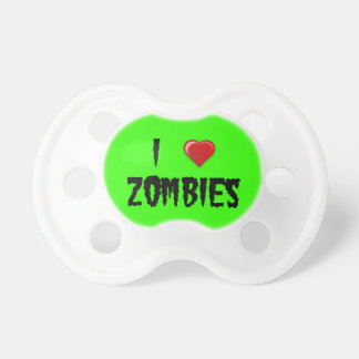 I Heart Zombies Pacifiers