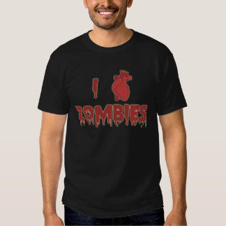 I heart ZOMBIES Tee Shirt