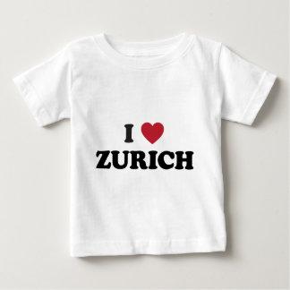 I Heart Zurich Switzerland Baby T-Shirt