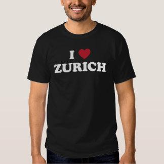 I Heart Zurich Switzerland T Shirt