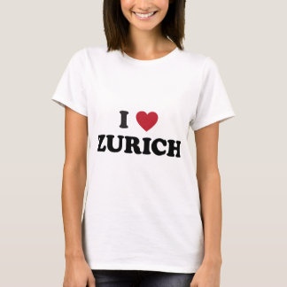 I Heart Zurich Switzerland T-Shirt