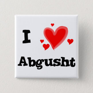 I Hearts Abgusht Persian Soup Beef 15 Cm Square Badge