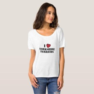 I (hearts) Yorkies T-Shirt