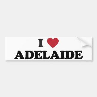 I Heat Adelaide Australia Bumper Sticker