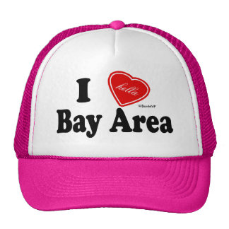I Hella Love Bay Area Mesh Hat