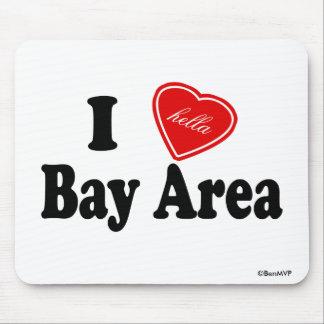 I (Hella) Love Bay Area Mouse Pad