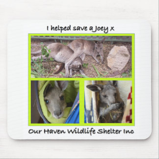 I helped save a Joey mouse pad