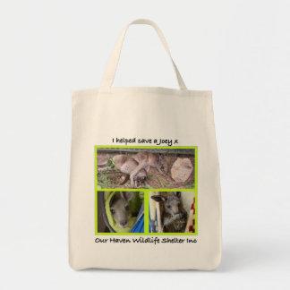 I helped save a Joey Tote Bag