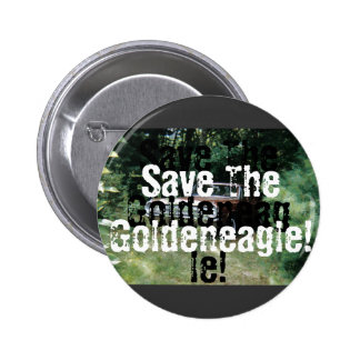 I Helped Save The Goldeneagle of Old Orchard Beach 6 Cm Round Badge