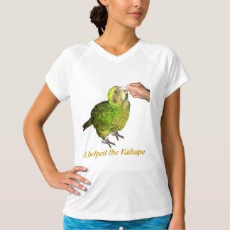 i helped the kakapo t shirt